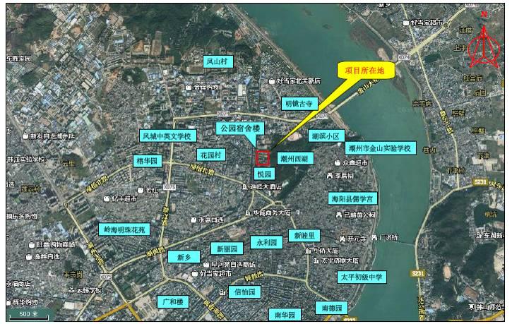 汕头市金园工业区(11r2-2片区)及潮汕路月浦南工业区